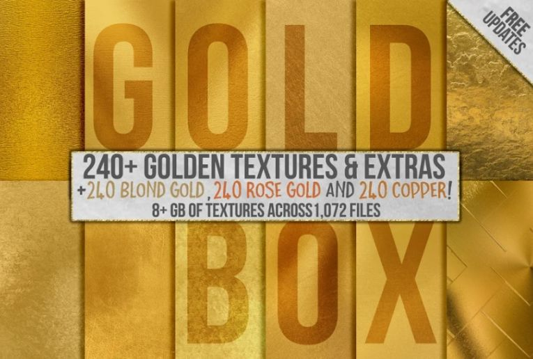Gold Foil Texturesa and Backgrounds