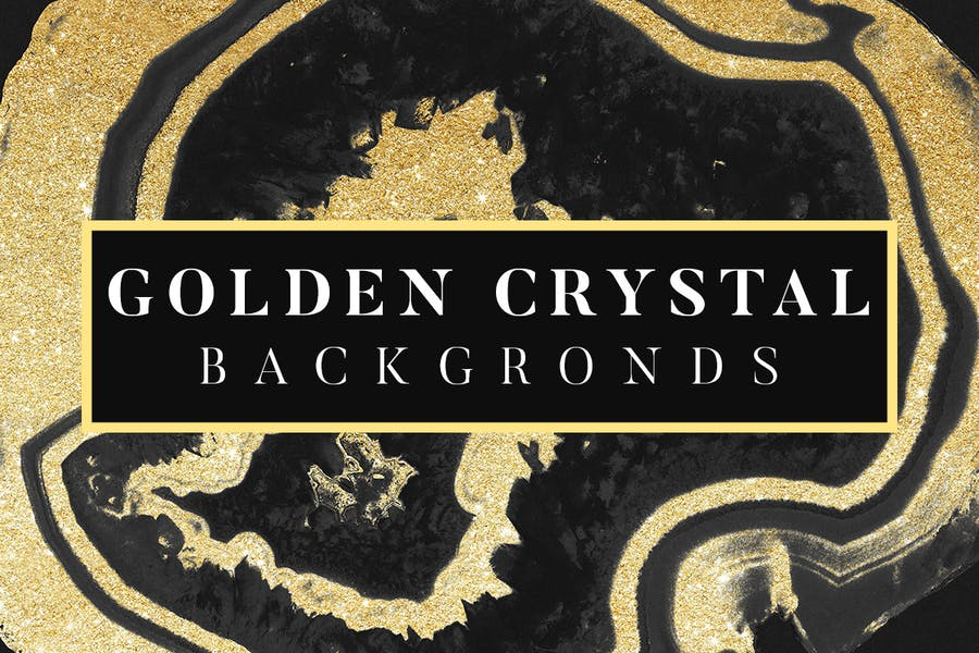 Golden Crystal Style Wallpapers