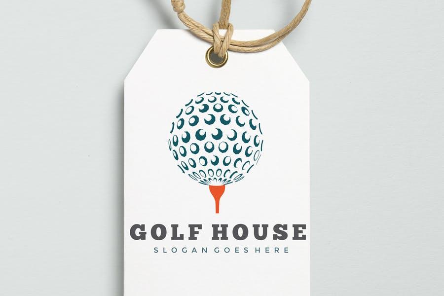 Golf House Logotype