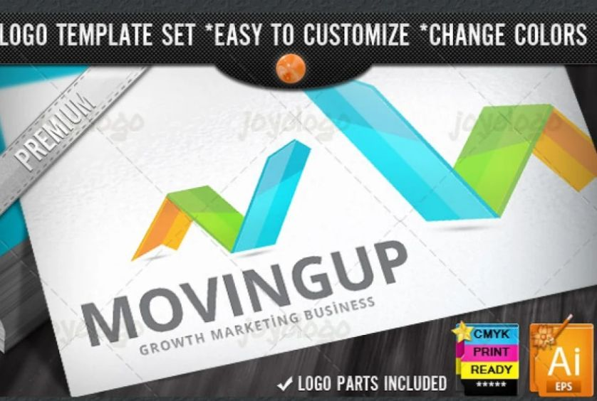 Growth Logo Design Idea