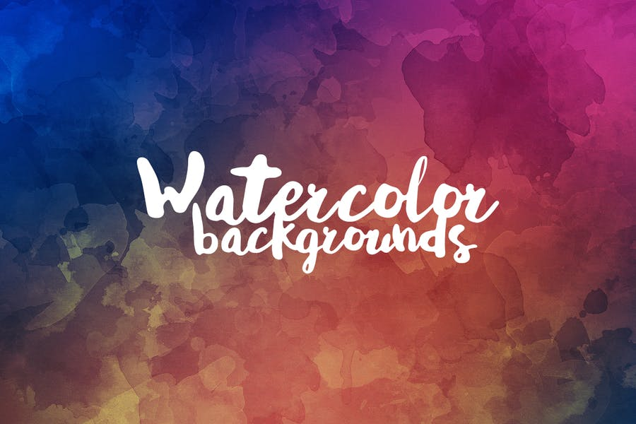 Grunge Watercolor Backgrounds