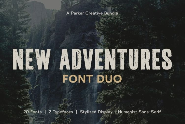 Grungy Handcrafted Typeface