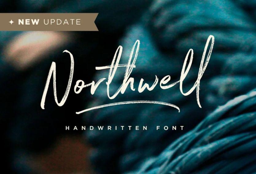 Hand Written Signature Typeface