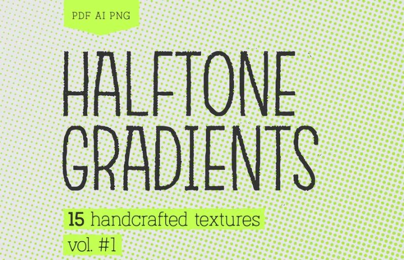 Handcrafted Halftones Pack