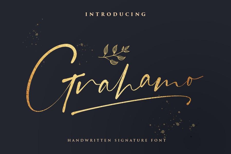 Handwritten Fashion Fonts