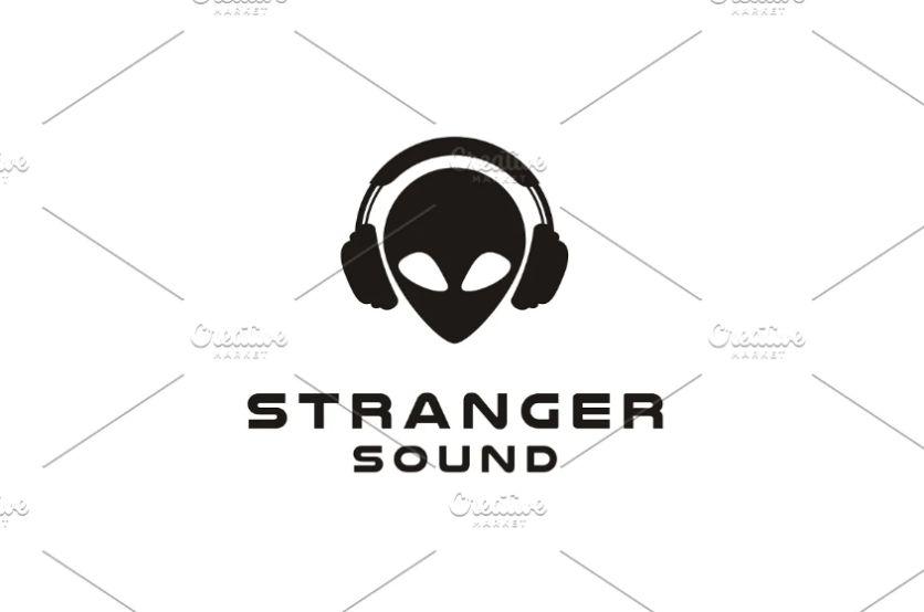 Headphones Style Logo Designs