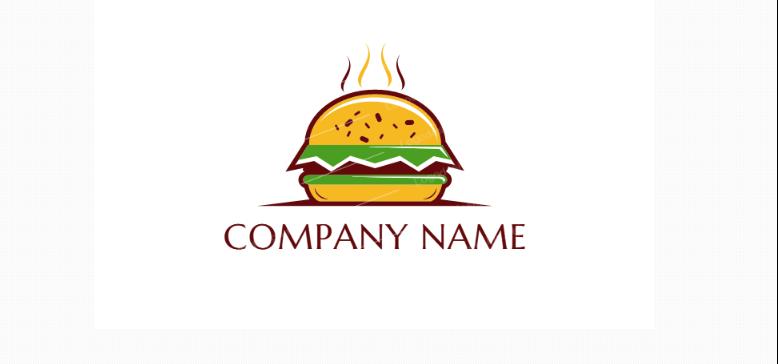 High Quality Burger Logo