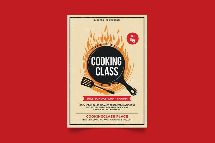 High Quality Cooking Claas Flyer