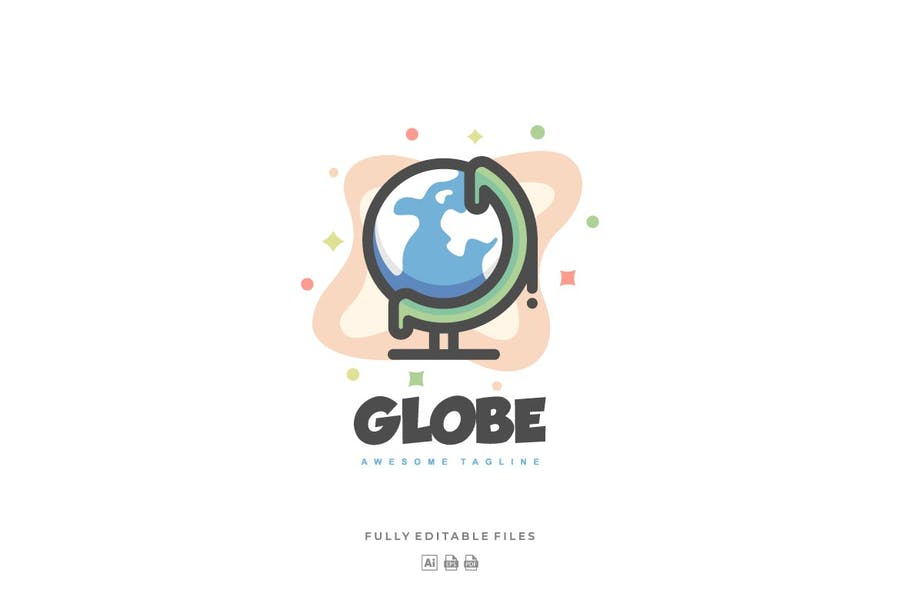 High Quality Globe Design identity