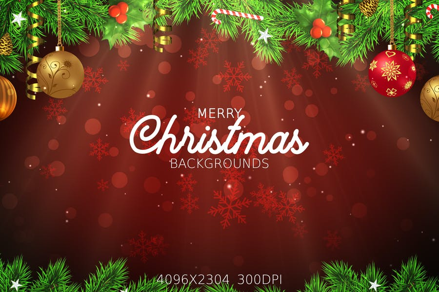 High Quality Merry Christmas Backgrounds