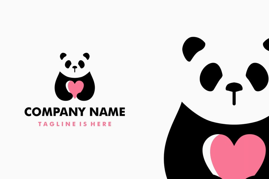 High Quality Panda Love Identity