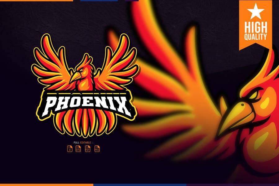 High Quality Phoenix E Sport Logo