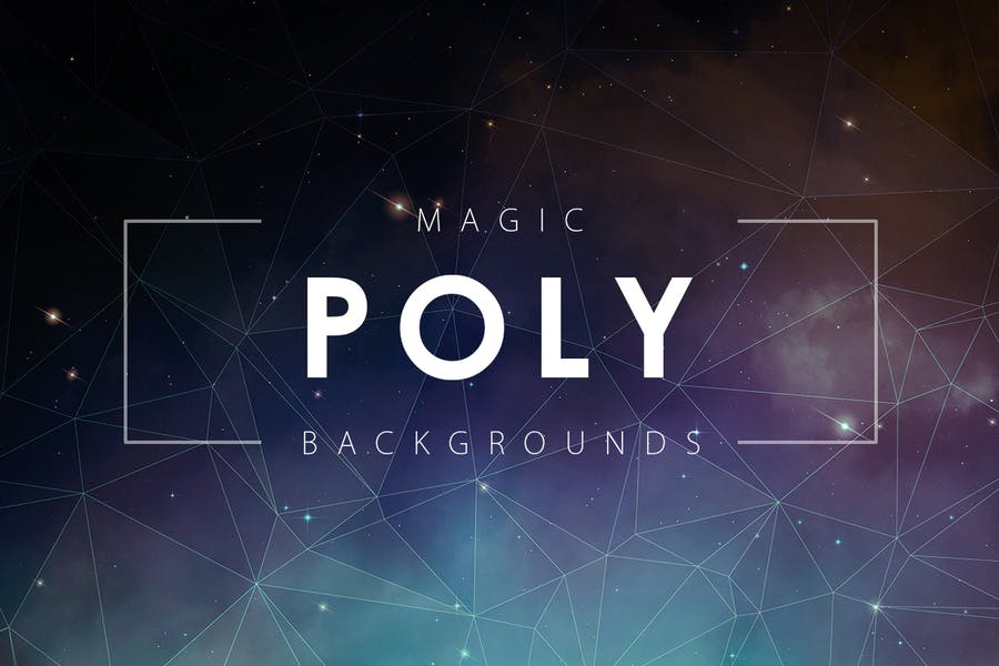 High Quality Polygon Backgrounds