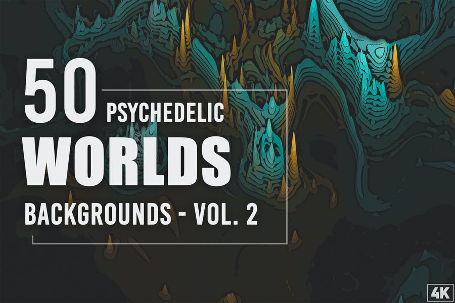 High Quality Psychedelic Backgrounds