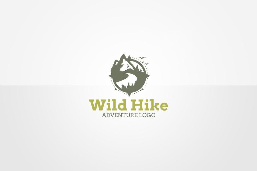 Hiking Loho Design Templates