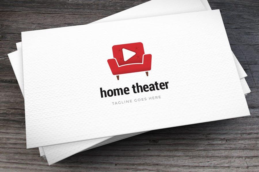 Home Theater Logo Designs