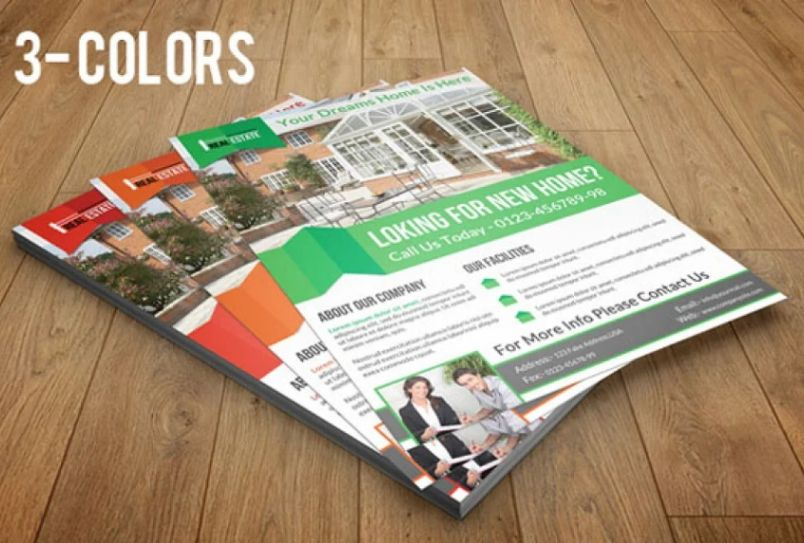 House Marketing Flyer Templates