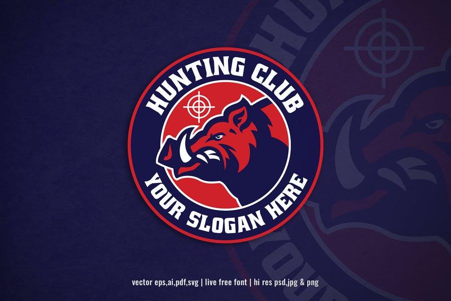 Hunting Club Logo Designs