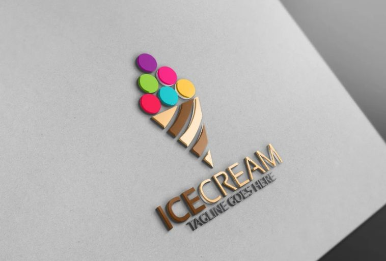 Ice Cream Branding Identity