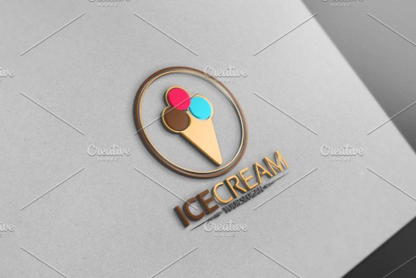 Ice cream Concept Branding Identity