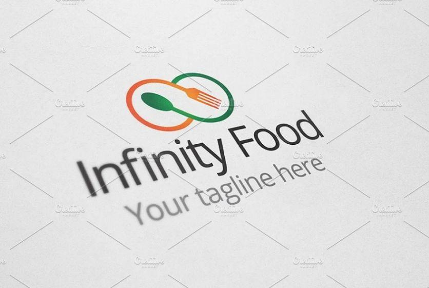 Infinity Food Logo Templates