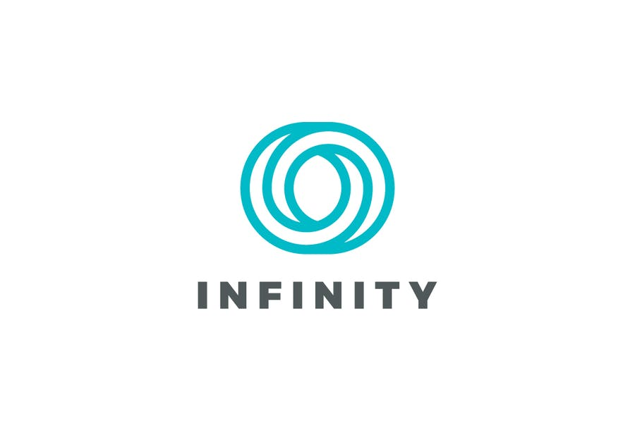 Infinity Loop Logo Identity