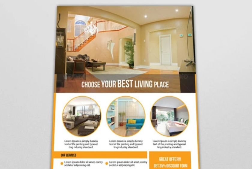 Interior Agency Flyer Design