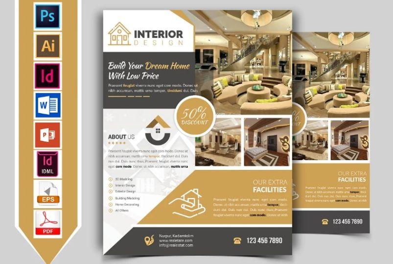 Interior Designing Services Flyer