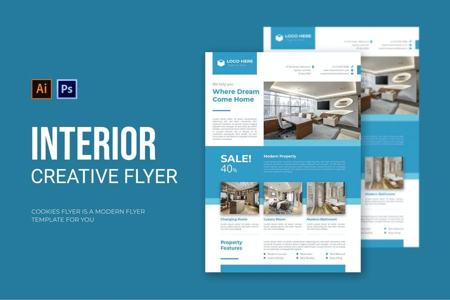 Interior Items Sale Flyer