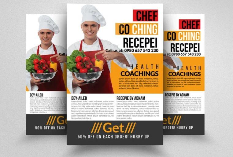 Italian Chef Flyer Template