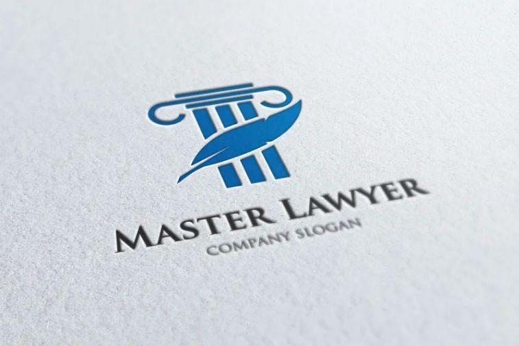 Justice themed Logo Identity Design
