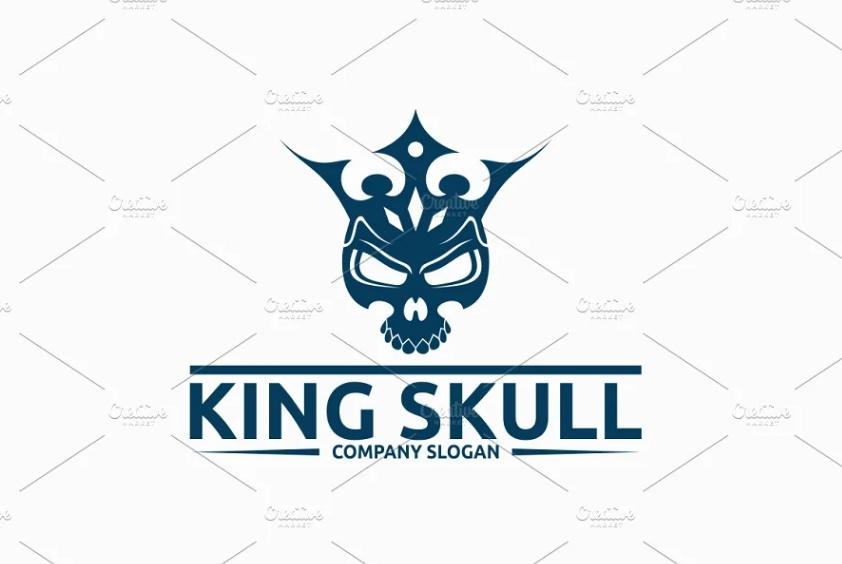 King Skull Branding Identity Design