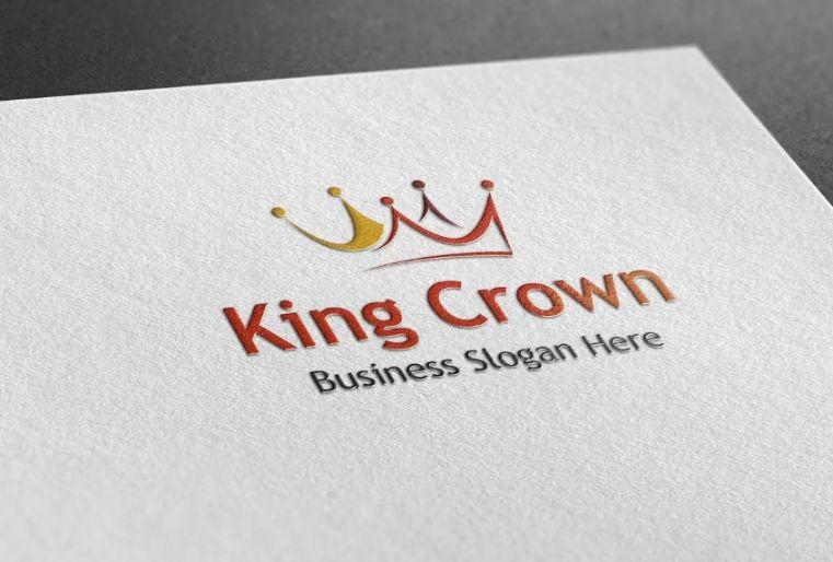 King Style Logo Identity Design