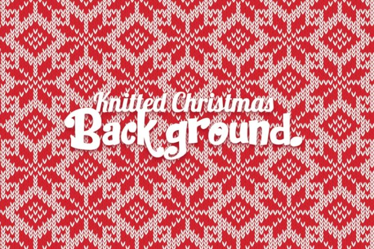 Knitted Christmas Wallpapers