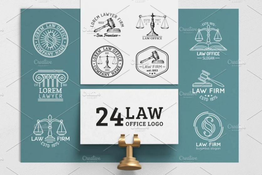 Law Offices Logo Set