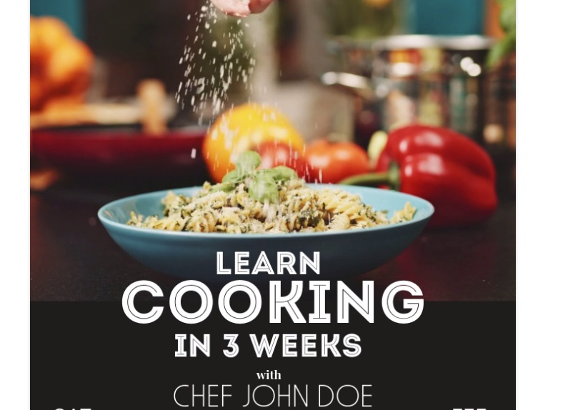 Lear Cooking Flyer Template