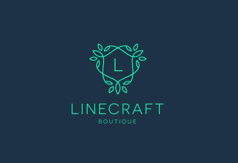 Line Style Boutique Logo Design