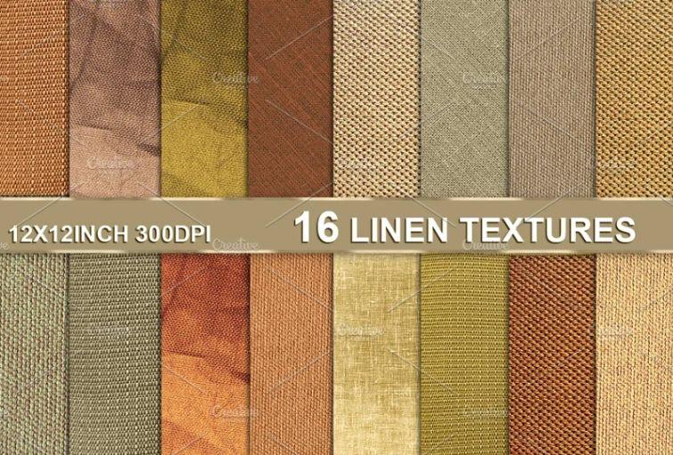 Linen Canvas Textures Pack