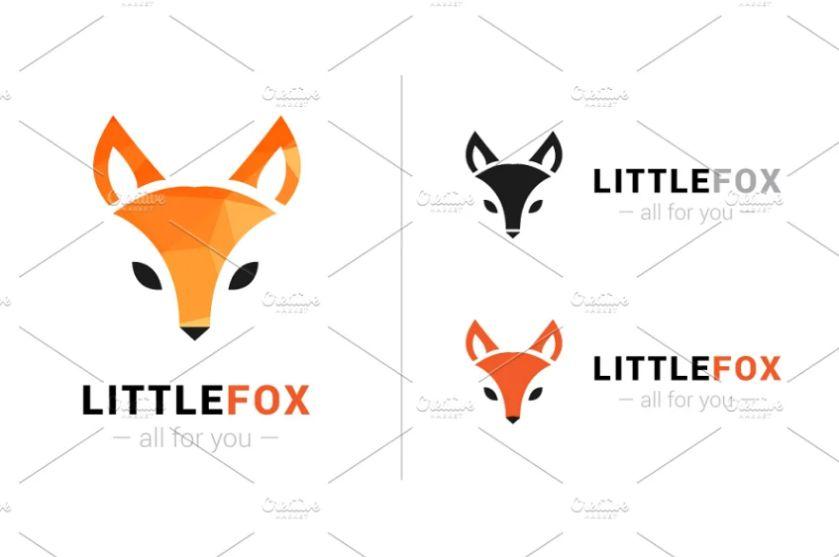 Little Fox Logo Identity