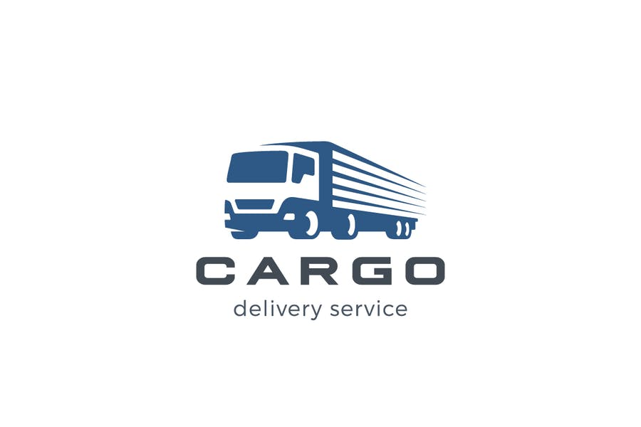 Long Truck Logotype Design