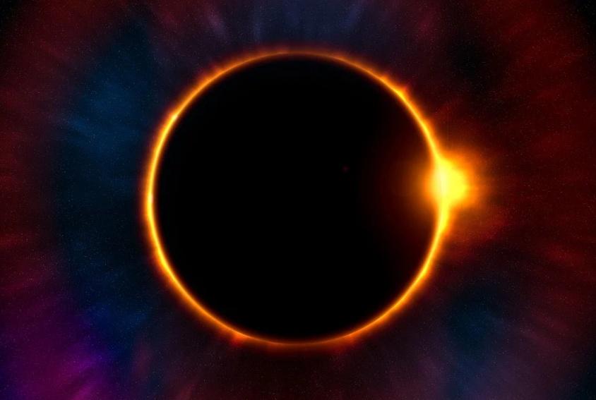 Lunar Eclipse Background