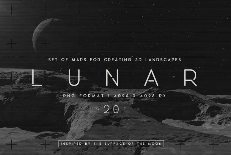 Lunar Landscape Backgrounds