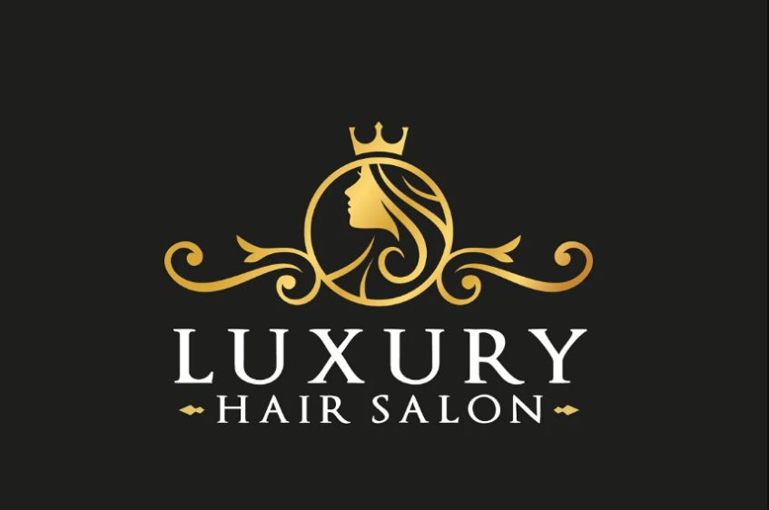Luxury Hair Salon Logo