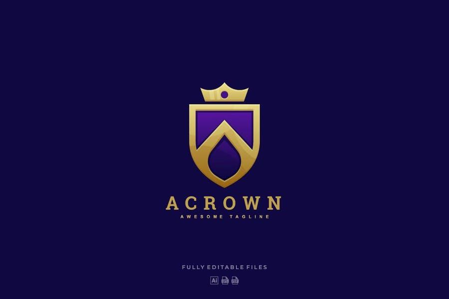 Luxury Style Crown Identity Design