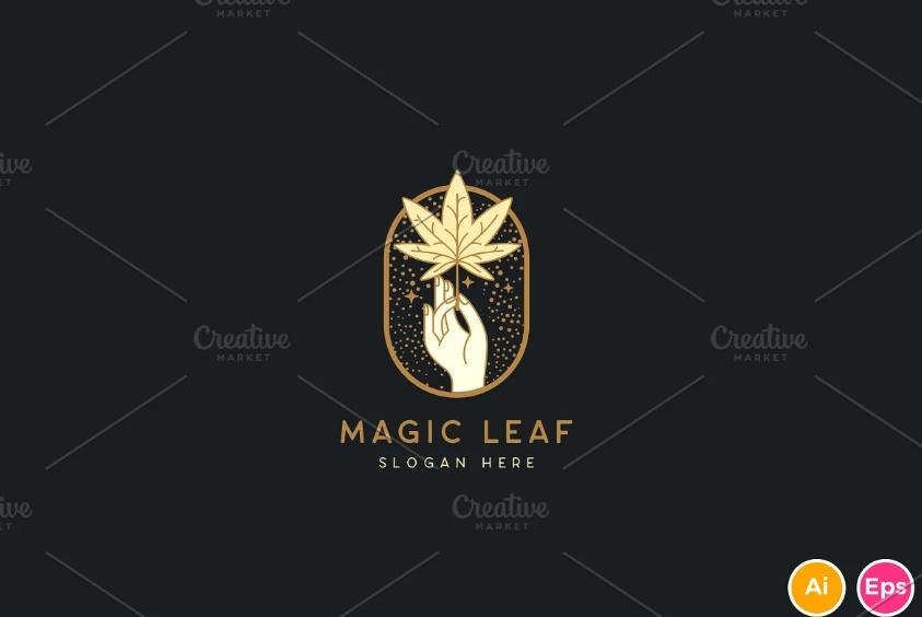 Magic Leaf Logo
