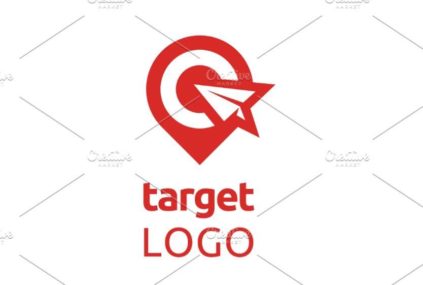 Map Target Logo Design