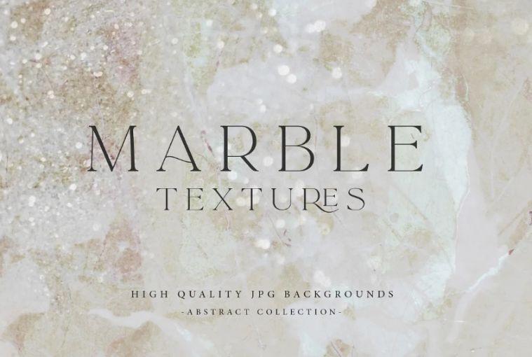 Marble Glitter Background Texture