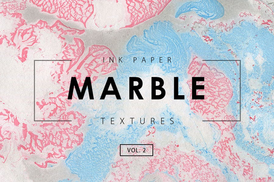 Marble Ink Paper Textures