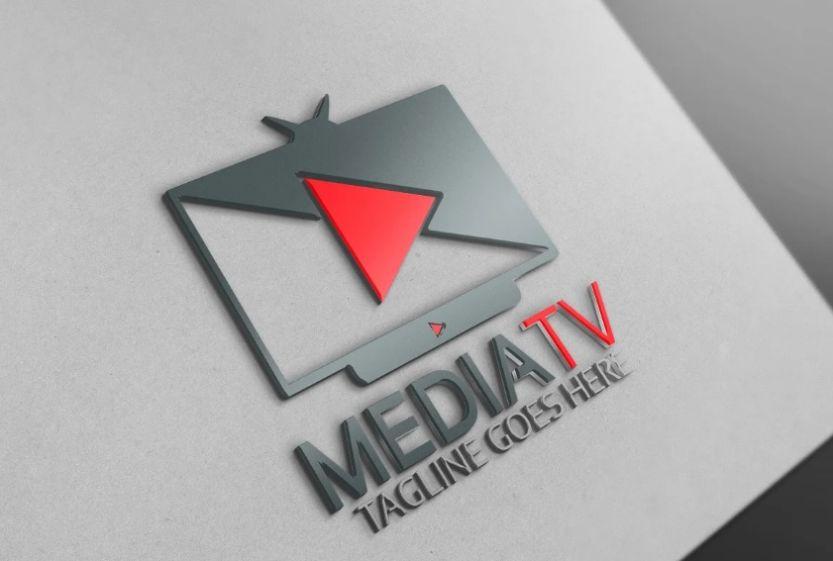 Media TV Branding Identity
