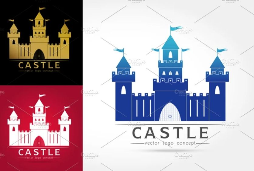 Medieval Style Logo Design